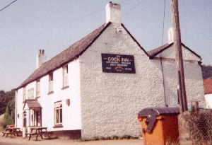 How far's the cock inn?